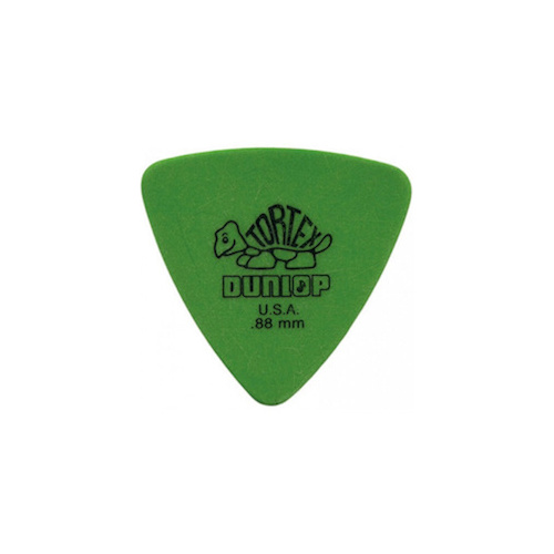 Dunlop Tortex Triangle MedHeavy Pick [0.88mm] image
