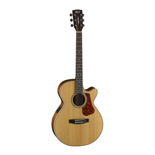 Cort L100F NS Concert Cutaway Acoustic Guitar Satin Finish image