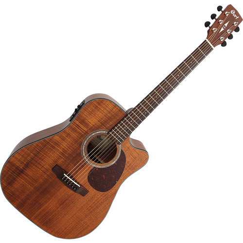 Cort MR710F Open Pore Dreadnought Acoustic [All Blackwood] image