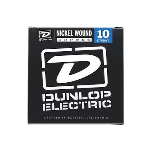 Dunlop Nickel Wound Light/Heavy 10-52