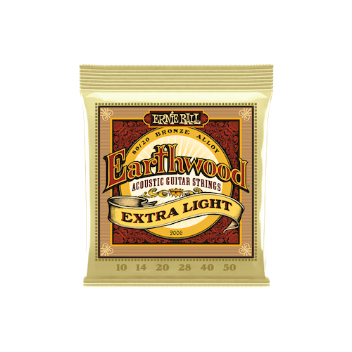 Ernie Ball Earthwood 80/20 X-Lite 10-50 Acoustic image