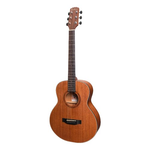 Martinez 'Natural Series' Short Scale Acoustic/Electric [Mahogany]