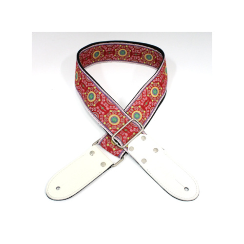 DSL Sal Red Woven Jacquard Strap image